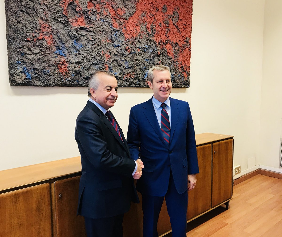 SRSG Tanin meets with Undersecretary of State of Italy | UNMIK
