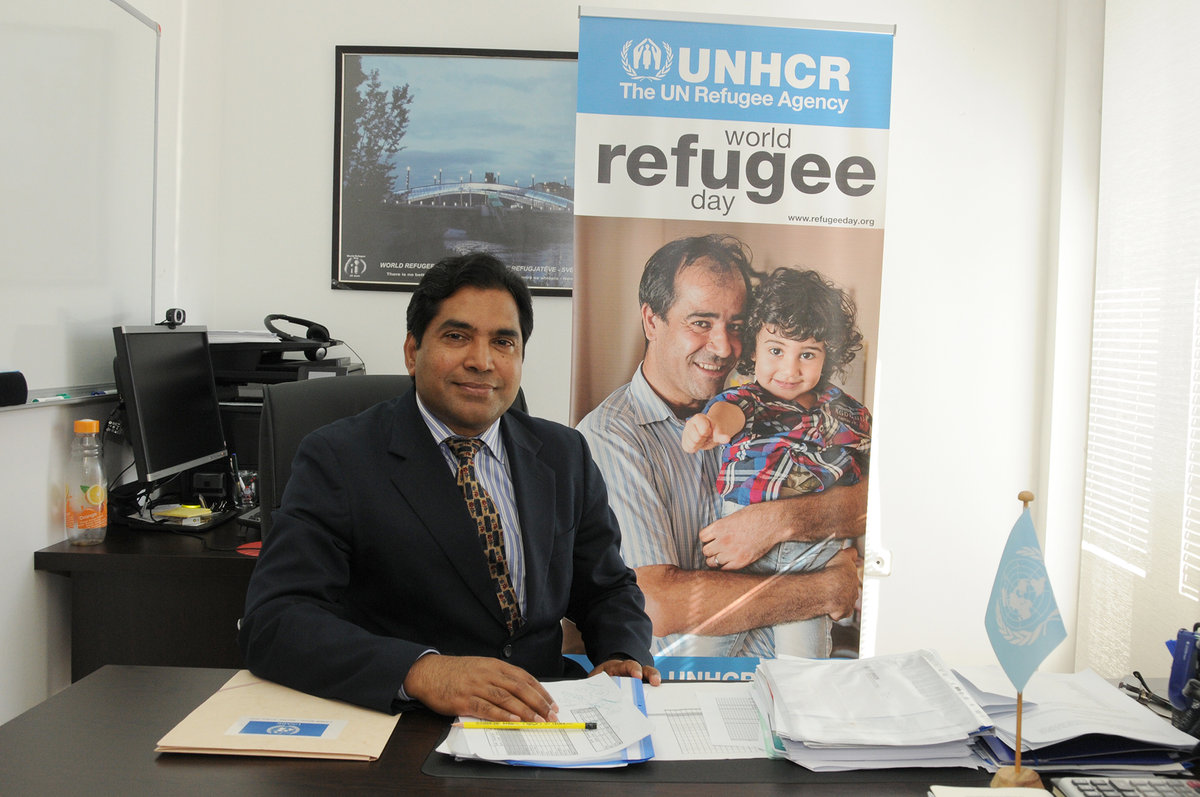 Narassima Rao, Head of UNHCR Office in Kosovo ©UNMIK Photo: Shpend Berbatovci