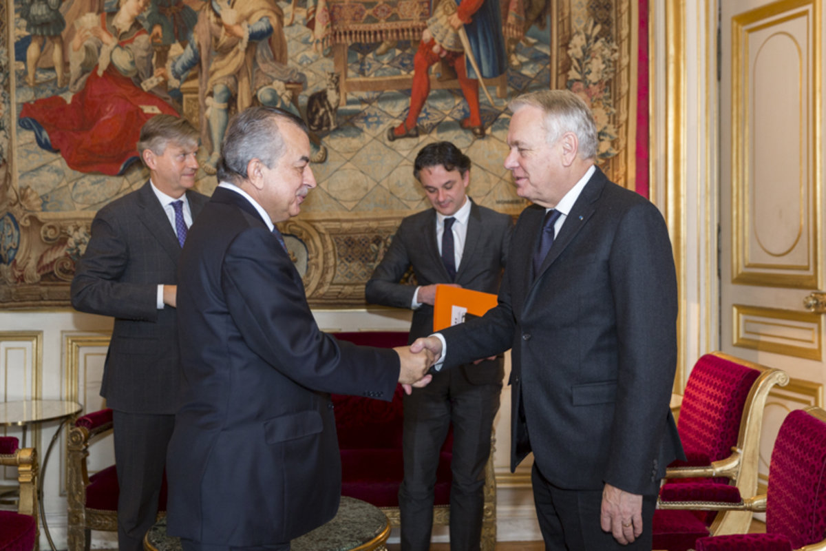 SRSG Tanin meets French Foreign Minister in Paris, discusses