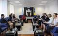 ASG Keita and SRSG Tanin Met with Kosovo Prime Minister and Minister of Foreign Affairs