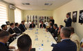 SRSG Tanin meets Gjilan/Gnjilane Mayor Lutfi Haziri