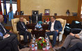 SRSG TANIN MEETS PRISTINA MAYOR SHPEND AHMETI