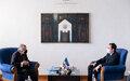 SRSG Tanin Meets Kosovo Prime Minister Albin Kurti