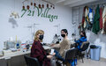 Working together, from a distance: Women in Kosovo sew almost 200,000 masks for distribution.