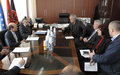 UNMIK Chief visited Fushë Kosovë/Kosovo Polje and Obiliq/Obilić municipalities   Pristina, 26 April 2016 - The Special Representative of the Secretary-General (SRSG), Zahir Tanin, and his Deputy, Christopher Coleman, today visited Fushë Kosovë/Kosovo Polj