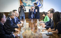 SRSG Tanin holds pre-Security Council meetings in Belgrade