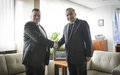 SRSG TANIN MEETS THE NEW HEAD OF THE COUNCIL OF EUROPE OFFICE IN PRISTINA