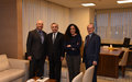 COUNCIL OF EUROPE'S COMMISSIONER FOR HUMAN RIGHTS MEETS SRSG TANIN