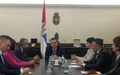 SRSG TANIN MEETS SERBIAN DEPUTY PRIME MINISTER/FOREIGN MINISTER IVICA DACIC