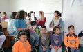 UNV partnering with Gjelane School