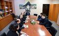 UNMIK Chief visited Zvečan/Zveçan municipality