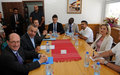 Special Representative of the Secretary-General visits Gjakovë/Đakovica Municipality
