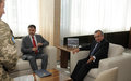 SRSG Zahir Tanin hosted the Minister of the republic of Moldova