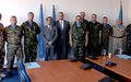 UNMIK's military observers awarded medals