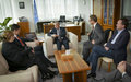 SRSG TANIN MEETS THE UNDER-SECRETARY OF STATE FOR FOREIGN AND SECURITY POLICY OF FINLAND