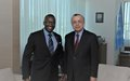 SRSG TANIN MEETS UNFPA'S REGIONAL DIRECTOR, MR. JOHN MOSOTI